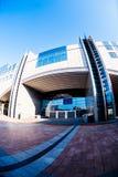 Altiero Spinelli byggnad av Europaparlamentet Arkivfoton