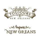 Altijd het Franse Kwart van New Orleans Royalty-vrije Stock Foto's