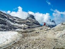 Altipiano delle pal Di San Martino Włochy - dolomity - Zdjęcia Stock
