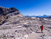 Altipiano delle Pale di San Martino - Dolomites - Italy Stock Image