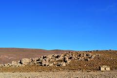 altiplano的一点房子 库存照片