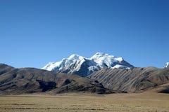 altiplano西藏 库存照片