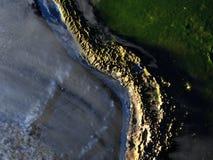 Altiplano στη γη - ορατός ωκεανός Στοκ εικόνα με δικαίωμα ελεύθερης χρήσης