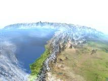 Altiplano στις Άνδεις στο πλανήτη Γη Στοκ Φωτογραφίες