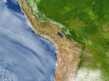 Altiplano στο πλανήτη Γη Στοκ εικόνα με δικαίωμα ελεύθερης χρήσης