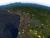 Altiplano τη νύχτα στο πλανήτη Γη Στοκ εικόνα με δικαίωμα ελεύθερης χρήσης