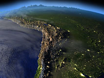 Altiplano τη νύχτα Στοκ εικόνες με δικαίωμα ελεύθερης χρήσης