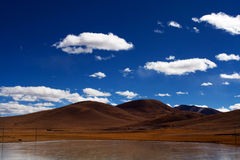 Altiplano. Beautiful altiplano mountain and lake royalty free stock images