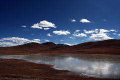 Altiplano. The landscape is very beautiful Royalty Free Stock Image