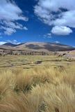 altiplano Bolivia cumuje Fotografia Royalty Free