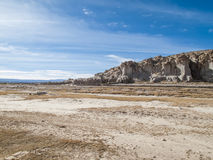 Altiplano in Bolivia. View at Altiplano in Bolivia stock image