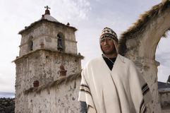 altiplano Chile parinacota osadnik Obrazy Stock