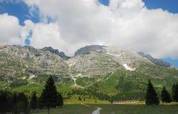 Altiplano de Montasio Stock Photo