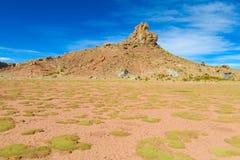 Altiplano desert arid landscape Royalty Free Stock Photo