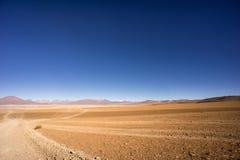 Altiplano Desert Bolivia. Altiplano Desert close to Chile Royalty Free Stock Photos