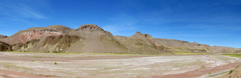 Altiplano desert valley royalty free stock images
