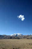 Altiplano du Thibet Photographie stock