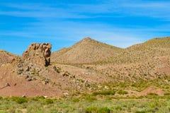 Altiplano färgrikt landskap Royaltyfria Foton
