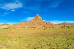 Altiplano landskapberg Royaltyfria Bilder
