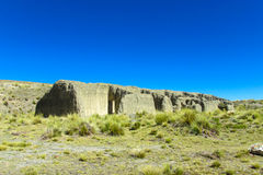 Altiplano liggande Arkivfoto