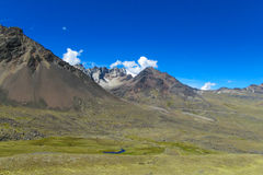 Altiplano liggande Royaltyfria Bilder