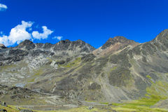 Altiplano liggande Arkivbild
