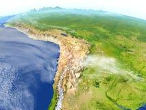 Altiplano na planety ziemi ilustracji