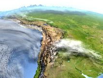 Altiplano na planety ziemi Obrazy Royalty Free