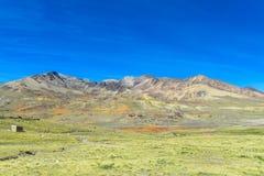 Altiplano nivålandskap Arkivfoton
