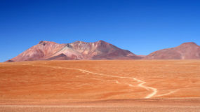 Altiplano Road Stock Photo