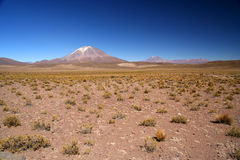 Altiplano volcano Stock Photos