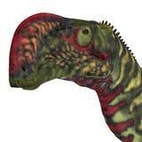 Altirhinus恐龙头 库存图片