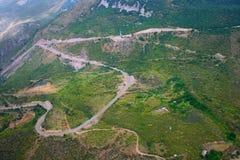 Mountain View de la altitud Imagen de archivo