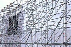 Altitude design of aluminum tubes Royalty Free Stock Photo