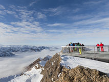Altitude of 3000 m in the Alps Royalty Free Stock Photography
