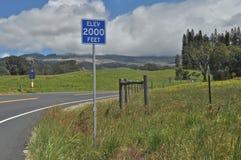 Altitude 2000 pieds Image libre de droits