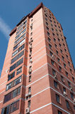 Altitudinal brick house Royalty Free Stock Photo