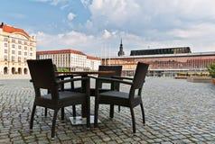 Altmarkt et Kulturpalast, Dresde Photo libre de droits