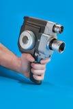 Altmodische 8mm Kamera Lizenzfreies Stockfoto