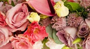 Altmodische Blumenanordnung Stockbilder