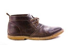 Altmodische braune Stiefel Stockbilder