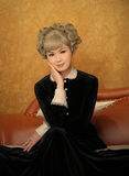 Altmodische chinesische Frau Stockfotos