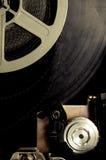 Altmodische Filmspule ausführlich 8mm Projektor Stockbild