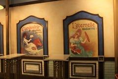Altmodische französische Bäckerei bei Epcot Disney stockbilder