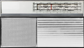 Altmodischer Radio Stockfotografie