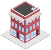 Altmodischer Shop lizenzfreie abbildung