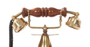 Altmodischer Telefonempfänger Lizenzfreies Stockbild