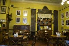 Altmodisches Café Lizenzfreie Stockfotografie