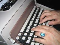 Altmodisches Schreiben Stockfotos