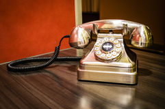 Altmodisches Telefon Lizenzfreie Stockfotografie